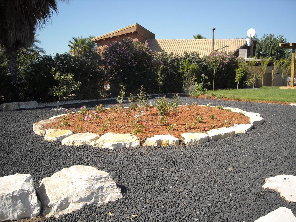 מעגל צמחיה מוגבה, חצר אחורית